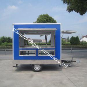 Elektrisches Multifunktionsdreirad, das mobile Nahrungsmittelkarre mit heißem Verkauf Vending ist