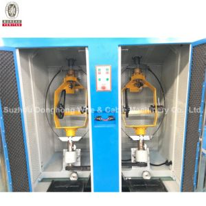 Zh-500 Par Pitch Eletrônico máquina de torção + Cabeça Dupla Tipo Vertical Back-Twist pagando-fora da máquina