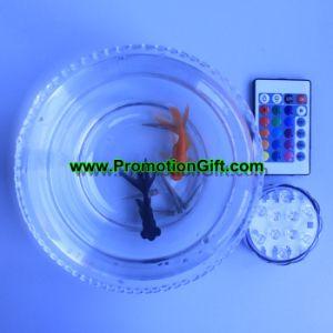 Indicatore luminoso subacqueo dell'acquario LED di Fishbowl della piscina