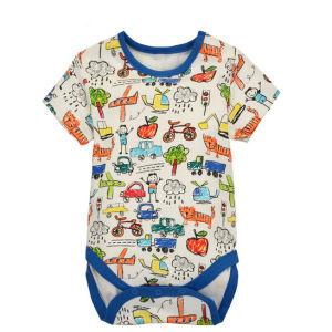 Kundenspezifische nette reine BaumwolleSofte Cofortable Baby-Abnutzung