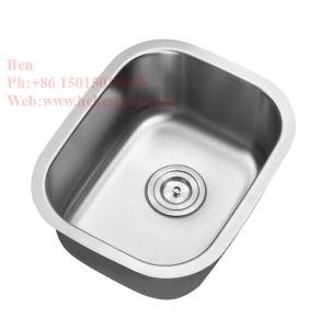 Dissipateur à barre unique en acier inoxydable, évier de cuisine, Handmade évier, un évier