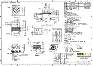 Conector do tipo C USB2.0, USB-Se Tid N° 200000253, durabilidade: 20.000 ciclos, transmissão de dados: 480m/s. Corrente nominal: 5A Max. Material da Shell: SUS304