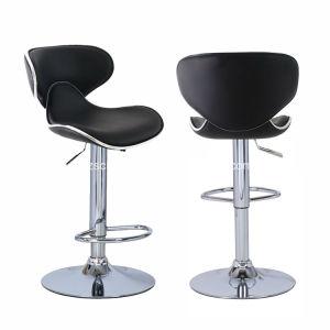 多彩な革旋回装置快適な棒椅子