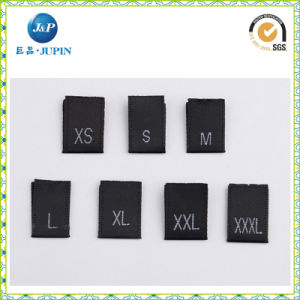 El uso de prendas de vestir de tejido Jacquard Etiqueta de tamaño (JP-CL139)
