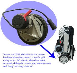 500W 115V WS Road Sweeper Motor für Floor Sweeper Machine