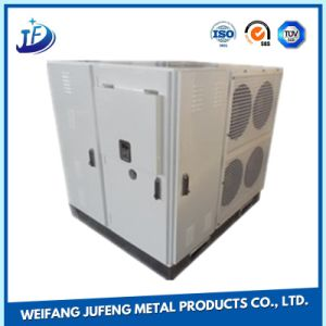Armoire de la batterie OEM en aluminium anodisé tolerie cas avec le service de fabrication