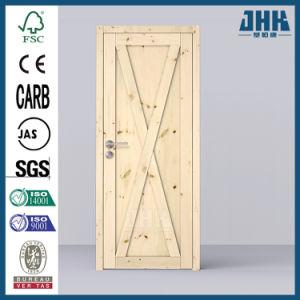 2 Grupo Pesado interior de la puerta de agitador de madera de pino (JHK-SK08)