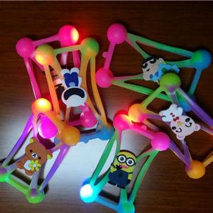 Gel de sílica LED pisca-pisca Caso Telefone Light