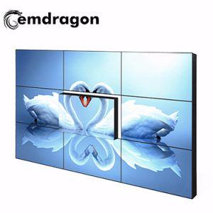 Compatible 4K de 55 pulgadas LCD LG video wall con bisel ultra estrecho 1.8-3.5mm