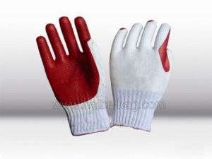 De gelamineerde Handschoenen van het Latex (hbgl-001)