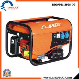 단일 위상 2kw/2.5kw/2.8kw 4 치기 세륨 (168F)를 가진 휴대용 가솔린 또는 휘발유 발전기