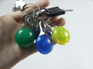 또한 LED Keychain로 이용되는 다 착색된 군번줄