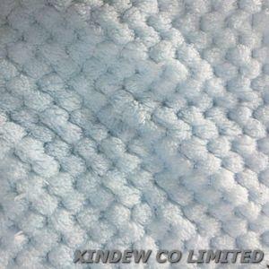 Coperta di corallo molle e respirabile eccellente del panno morbido con il disegno del favo