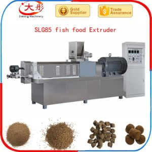 De bons aliments pour poissons flottant Suppliey de décisions de la machine de l'extrudeuse