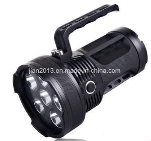 6X6w het navulbare 395nm UV LEIDENE Flitslicht van de Hand voor de Amber Jacht