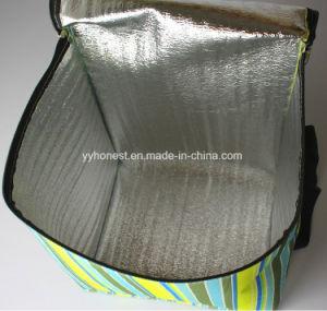 Nuovo sacchetto del dispositivo di raffreddamento del pranzo di picnic isolato della striscia di promozione 2018 disegno