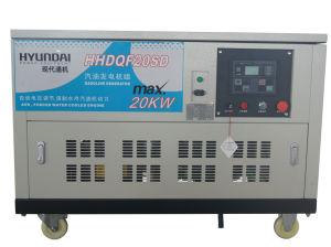 高いPower 20kw 4 Cylinder Water Cooling Gasoline Generator