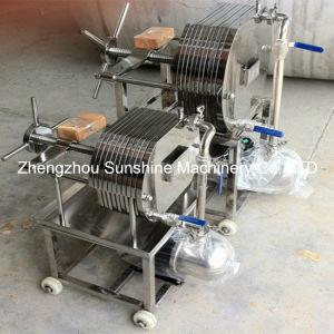 Pequena Máquina de filtro de óleo do filtro de óleo de coco pressione