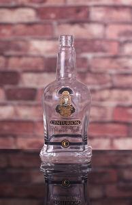 Superwodka-Flasche des feuerstein-750ml mit Drucken