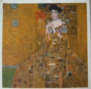Het Schilderen van DOil Reproducties van Beroemde Schilderijen van Klimt, Renoir, Monet, Van Gogh, Rembrandt,… eluxe Zak Bouguereau (SS03001)