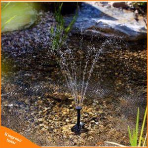 小型太陽水ポンプ力パネルキットの噴水のプールの庭の池の浸水許容の水まき