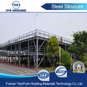 La luz económica Estructura de acero para el proyecto de estacionamiento