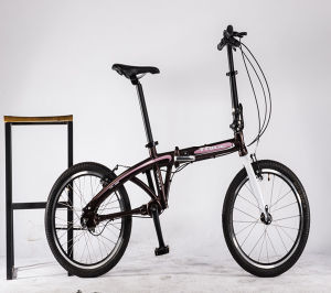 折る自転車3の速度のアルミ合金フレーム20の折るバイク