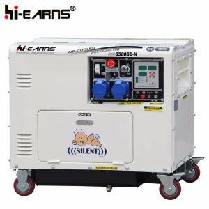 Super leiser Dieselgenerator des Portable-5kw (DG6500SE-N)