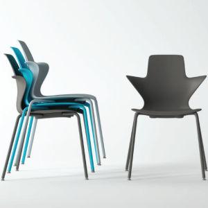 2018 [نو برودوكت] 4 سيقان مطعم بلاستيك كرسي تثبيت