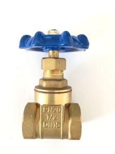 Válvula de compuerta de latón