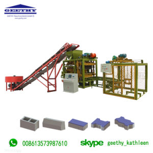 Qtj4-25c Plastic Pallets voor het Blok die van de Baksteen Machine maken