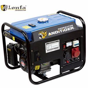 6.5HP Loncin 2kw Gx200 Motor-Dreiphasenbenzin-Generator