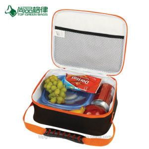 Polyester-kundenspezifisches Nahrungsmittelbewegliches Tote-Picknick Isoliermittagessen-Kühlvorrichtung-Beutel