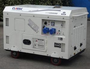 Generatore diesel elettrico di prezzi di fabbrica di inizio del bisonte (Cina) BS15000se 11kw 11kVA, generatore solare ibrido di energia eolica
