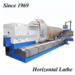 Horizontal para trabajo pesado Torno CNC para cilindro de molino de azúcar, el cigüeñal, Tubo de aceite