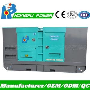 125kVA Diesel Cummins geradora de energia de espera com canópia Controlador Comap silenciosa