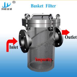 Cesta filtrante Filtro para canalización de la presión