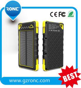 Sonnenenergie-Bank der LED-Fackel-8000mAh für Handy