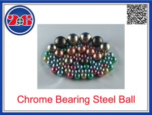 Pequeño disco 66HRC 10mm 1cm 100CR6 Suj2 Cojinete de bolas de acero cromado