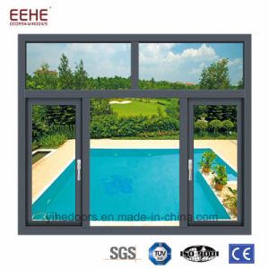 내부/바깥쪽에 열려있는 알루미늄 집 여닫이 창 Windows