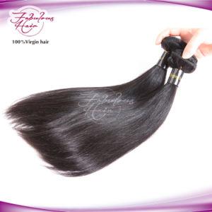 El cabello humano pleno mano atada Virgen Remy Extensiones de Cabello