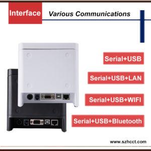 속도 근거리 통신망 USB 직렬 포트 80mm Bluetooth WiFi POS 열 영수증 인쇄 기계 (POS80B)를 인쇄하는 300mm/S