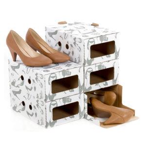 Envases de papel de impresión en color caja de zapatos