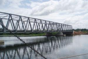 Estructura de acero prefabricadas puente viga de acero/acero prefabricados la construcción de la construcción de la fábrica de fabricación
