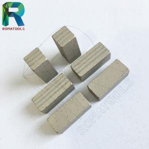 Высокое качество алмазных сегментов для мрамора базальтовой известняк гранита песчаника резки