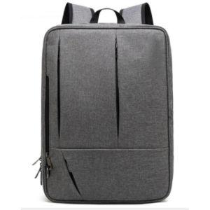 Zwarte Nylon Laptop van de Zak van de Computer van de Schouder van de Reis Rugzak voor Mensen
