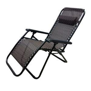 Venda quente Zero Gravity Folding cadeira de praia para meio-dia quebrar o mecanismo de reclinação Lounge