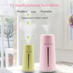 Venta de portátiles en casa caliente fácil difusor de aire de coche USB Humidificador