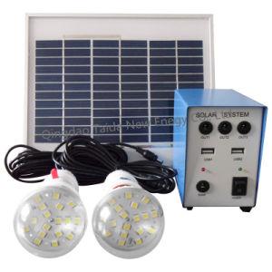 Mini Portable Solar Power Systems pour zone rurale de l'éclairage (TD-5W)