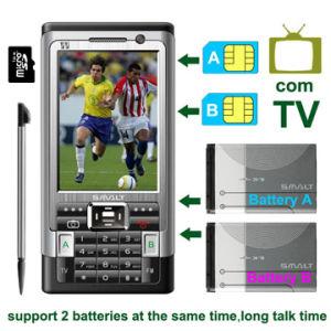 BiSMALT Quadband Fernsehapparat-Telefon MP7 (TV-216) als LKW-Reifen/LKW-Gummireifen 9.00-20/10.00-20/11.00-20/12.00-20/11-22.5/12.00-24